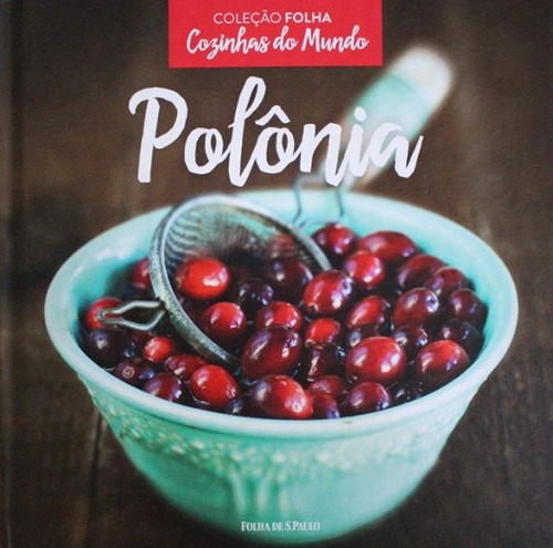livro cozinhas do mundo - polônia - coleção folha lacrado