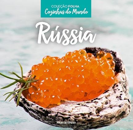 livro cozinhas do mundo - rússia - coleção folha lacrado
