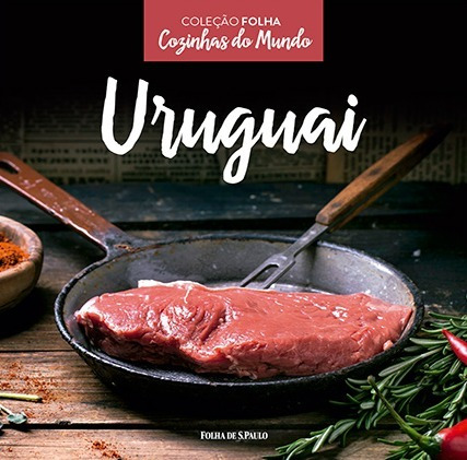 livro cozinhas do mundo - uruguai - coleção folha lacrado