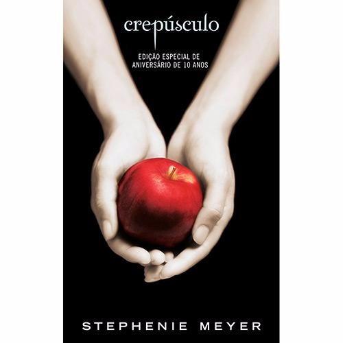 livro crepúsculo edição dupla de aniversário de 10 anos