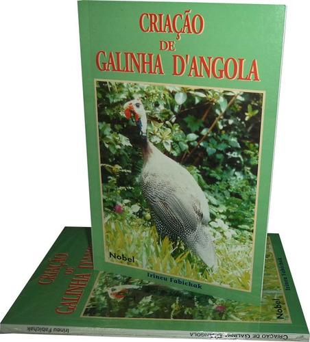 livro - criação de galinha d´angola