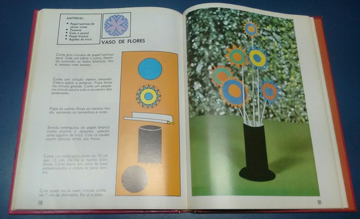 Livro Criacoes Com Papel Trevo De Quatro Folhas R 39 90 Em