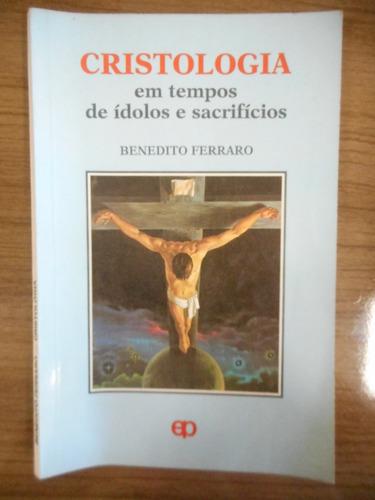 livro cristologia benedito ferraro