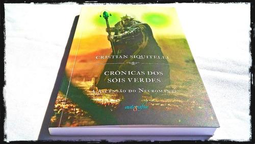 livro crônicas dos sóis verdes: a ascensão do necromante