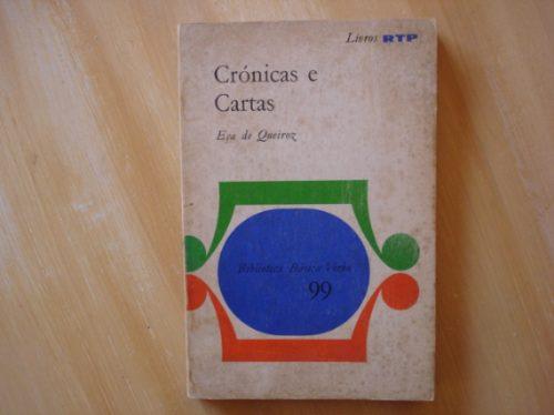 livro - crônicas e cartas - eça de queiroz
