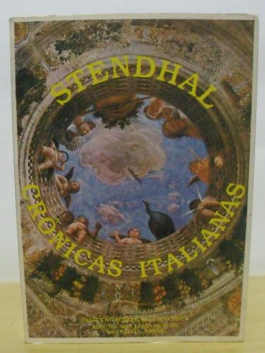 livro -  cronicas italianas -  stendhal