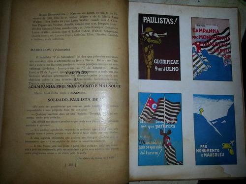 livro cruzes paulistas - revolução de 1932