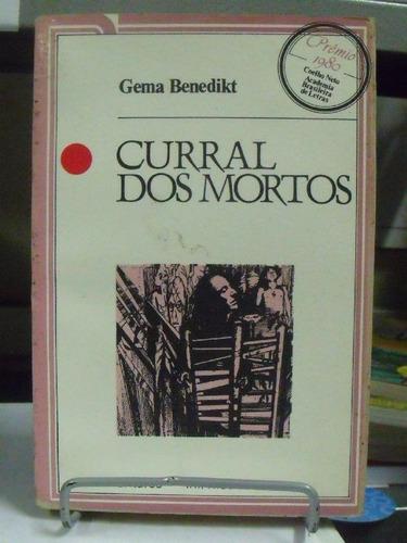 livro - curral dos mortos - gema benedikt