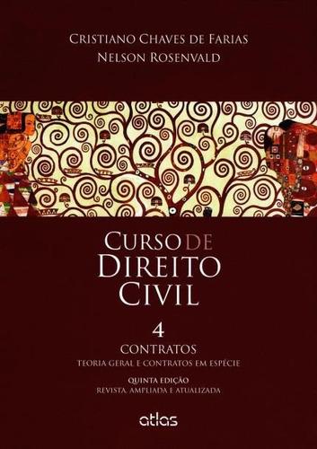 livro curso de direito civil - v.4 - contratos (2015)