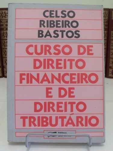 livro curso de direito financeiro e de direito tributário
