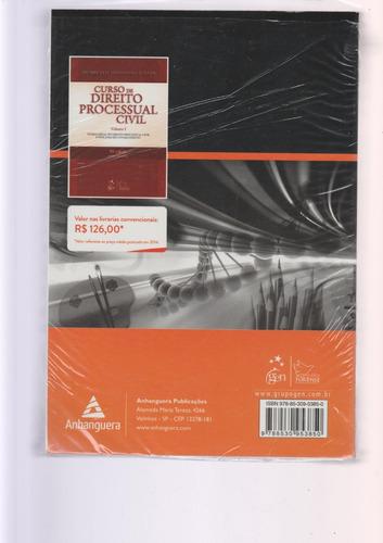 livro curso de direito processual civil - volume 1