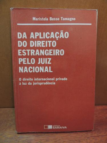 livro da aplicação do direito estrangeiro pelo juiz nacional
