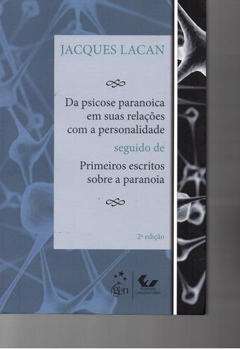 livro: da psicose paranóica em suas relações com a per