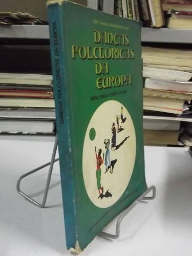 livro - danças folclóricas da europa