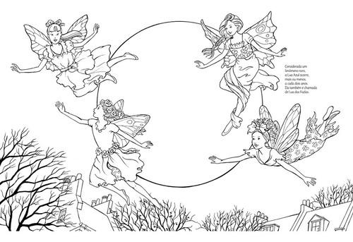 livro das fadas livro infantil para colorir oferta especial