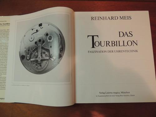 livro das tourbillon reinhard meis tecnologia relógios