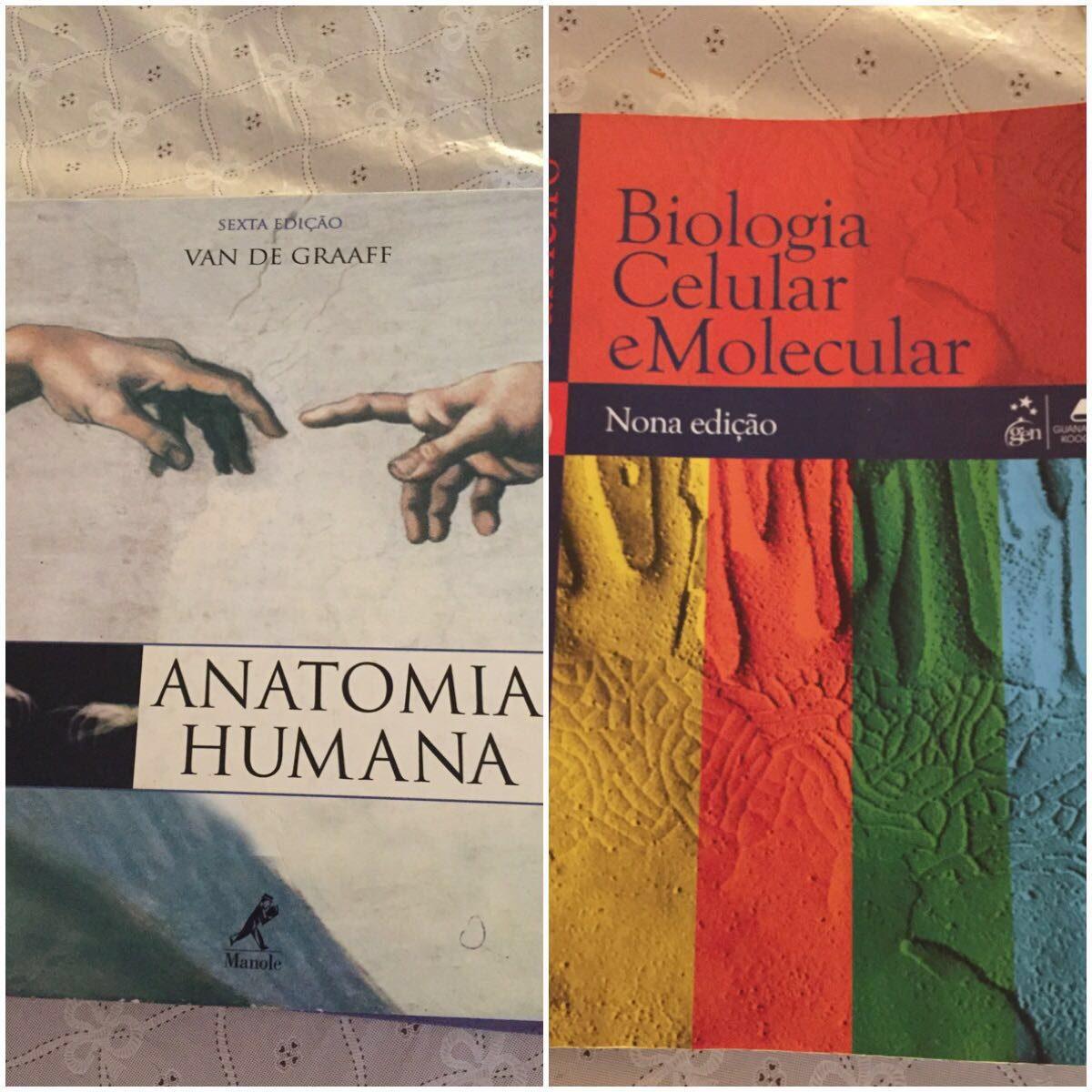 Livro De Anatomia E Biologia Celular - R$ 300,00 em Mercado Livre