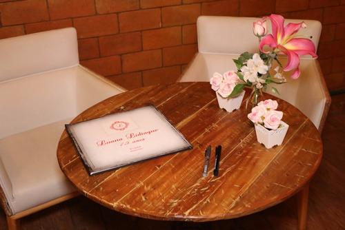 livro de assinaturas casamento debutantes + ensaio de fotos