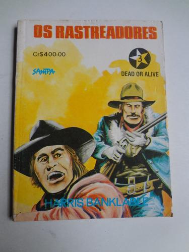 livro de bolso oeste os rastreadores n° 3