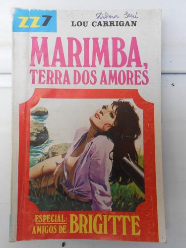 livro de bolso zz7 n° 434 marimba terra dos amores