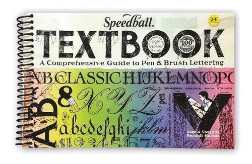 livro de caligrafia the speedball textbook 24° edição 3067
