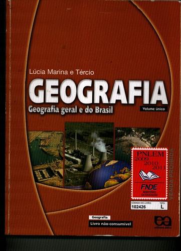 livro de geografia - vol. unico