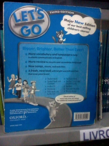livro de inglês let's workbook 3