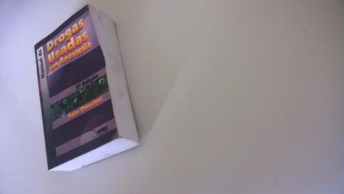 livro de medicina manual de drogas usadas em anestesia