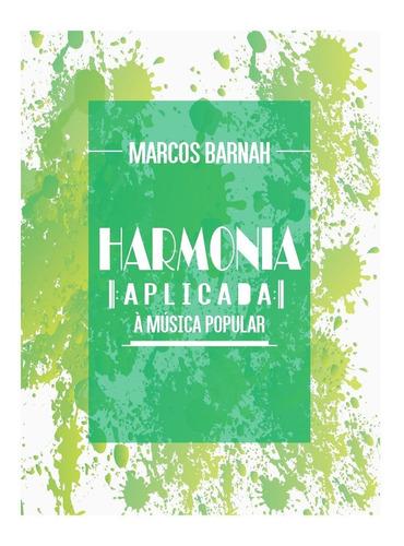 livro  de música - harmonia aplicada à música popular