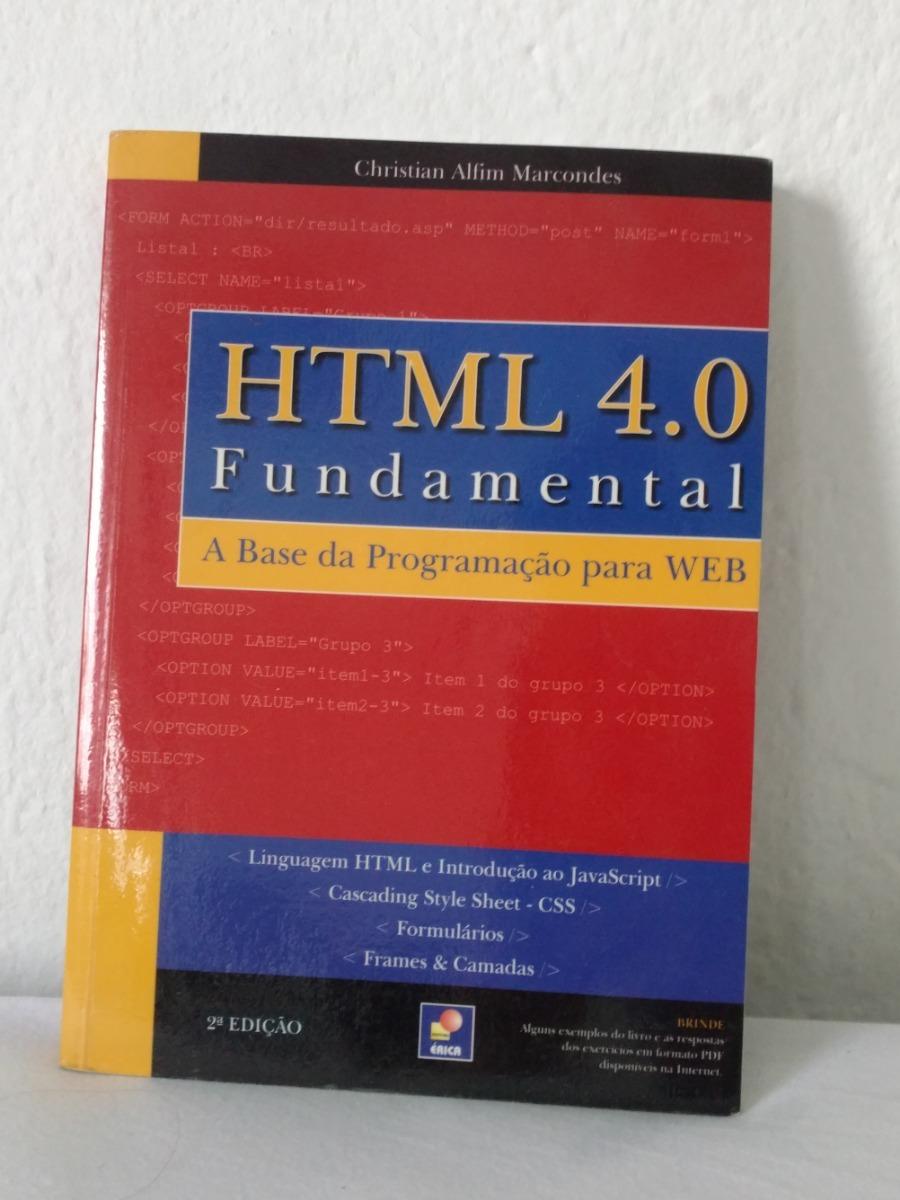 [livro De Programação] Html 4 0 Fundamental - 2a Edição