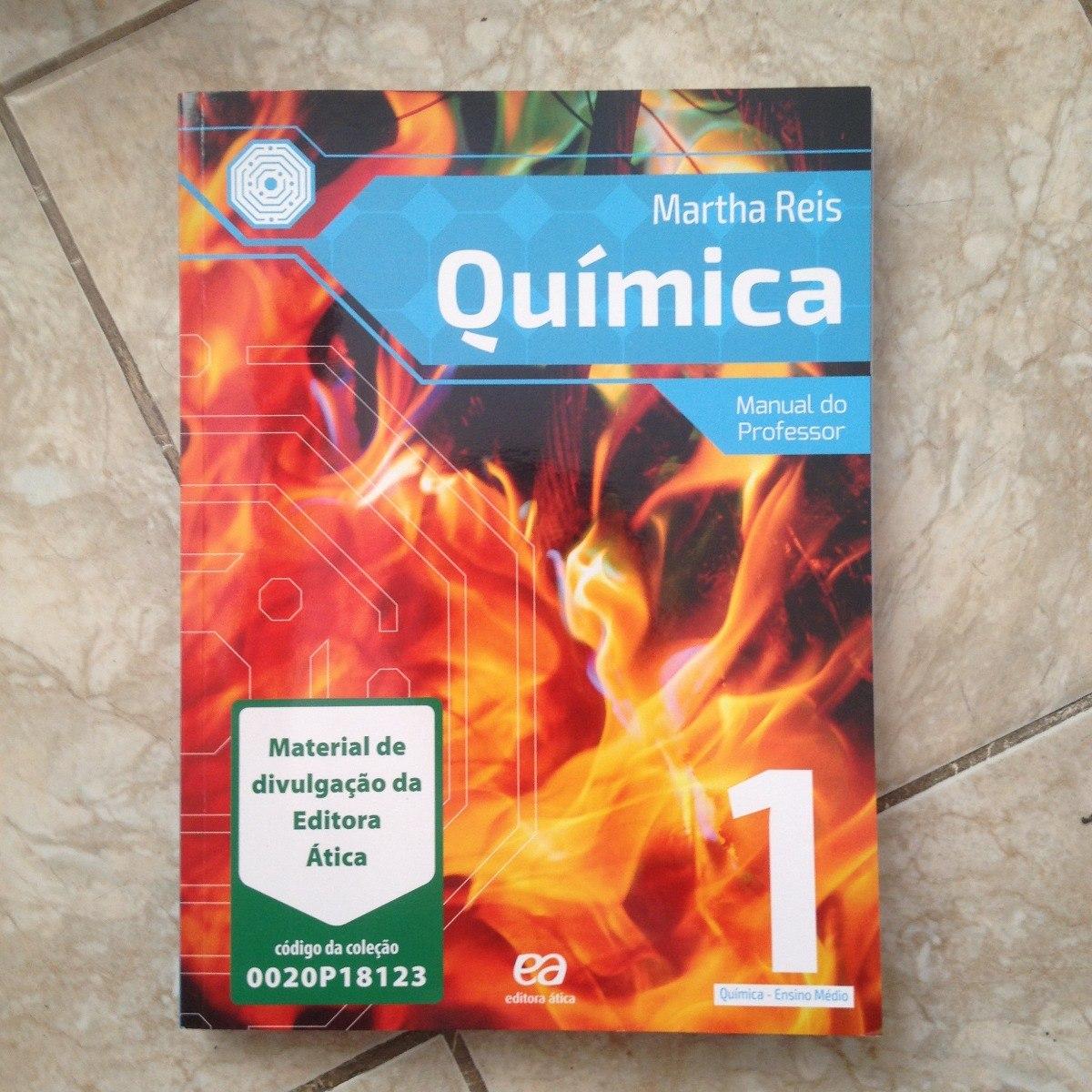 Livro De Química 1 Ensino Médio Com Manual Do Prof. 2017