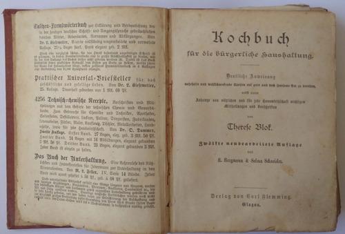 livro de receitas. raro e antigo.
