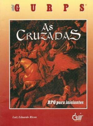 livro de rpg mini gurps - as cruzadas