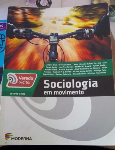 livro de sociologia - em movimento - moderna plus