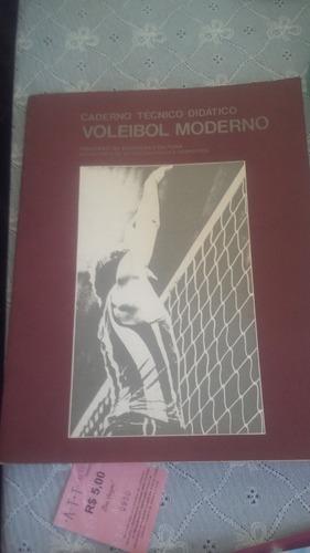 livro de voleibol edição de 1980 técnico- didático
