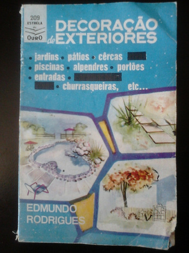 livro - decoração de exteriores - edmundo rodrigues