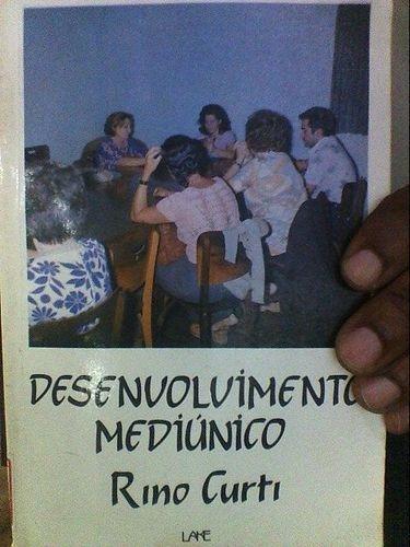 livro desenvolvimento mediúnico rino curti