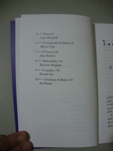 livro dez contos de terror