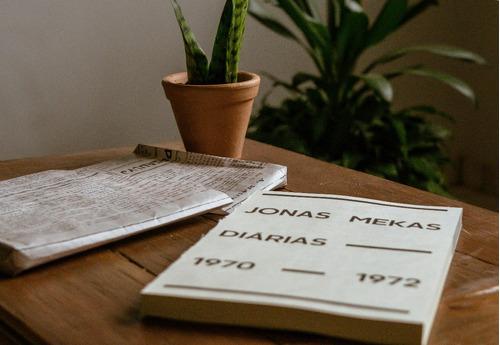 livro  diarias  de jonas mekas / tradução português-espanhol