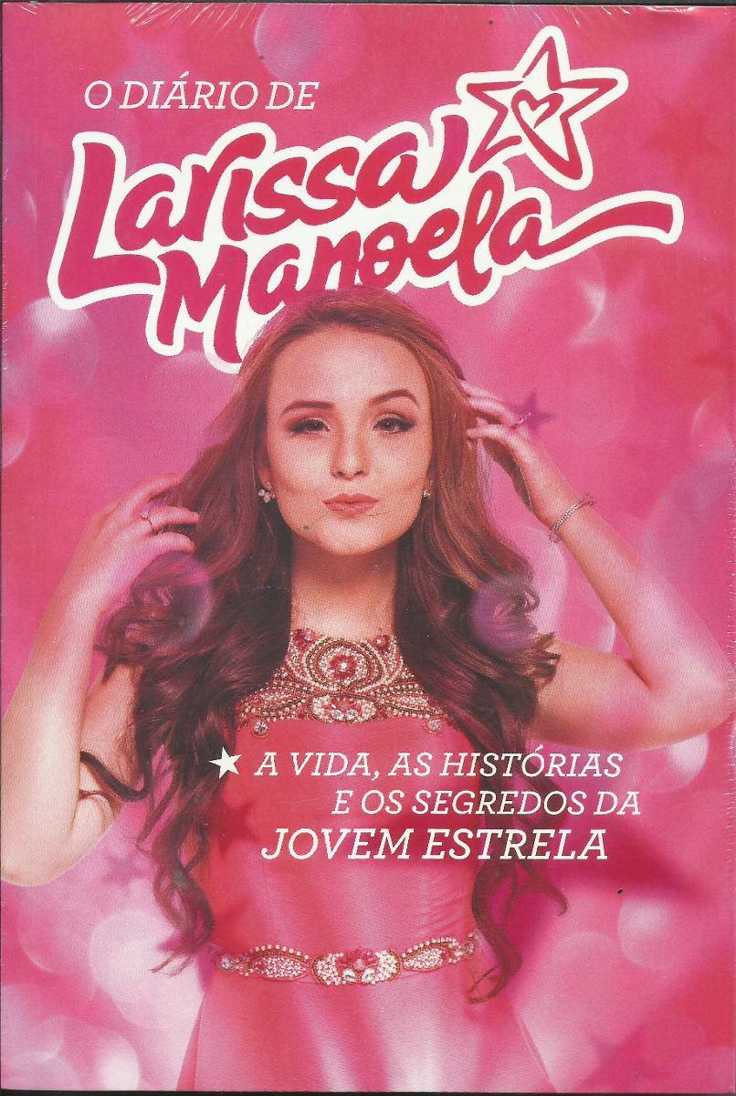 b5d434adff5c6 Livro Diário De Larissa Manoela - R  22,50 em Mercado Livre