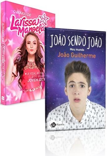 6dda1474a1591 Livro - Diário De Larissa Manoela E João Sendo João Guilherm - R  37 ...