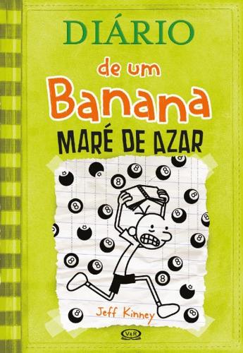 livro diário de um banana maré de azar