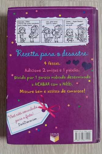livro - diário de uma garota nada popular - volume 5
