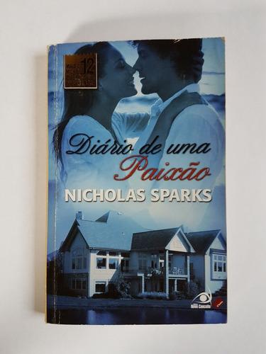 livro  - diário de uma paixão - nicholas sparks