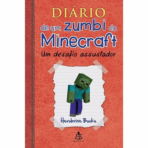livro - diário de zumbi do minecraft - vol. 1 (capa dura) #
