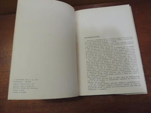 livro dibujando el retrato a. calderón desenho desenhando