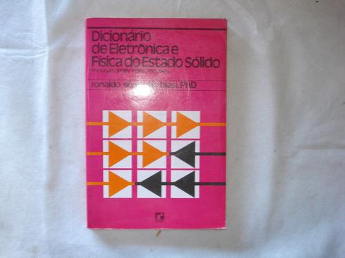 livro - dicionário de eletrônica e física do estado sólido