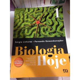 Livro Didático Biologia Hoje 1 - Editora Ática