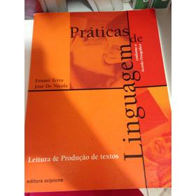 Livro Didático Práticas De Linguagem - Editora Scipione