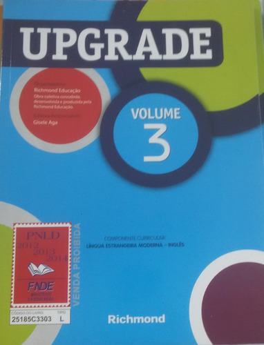 livro didatico up  grade 3.